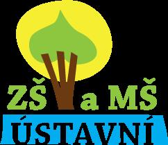 logo školy ZŠ a MŠ Ústavní