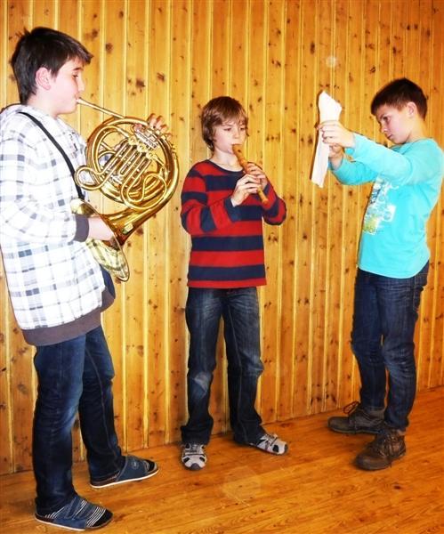 Koncert ve třídě 6.A