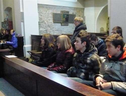 Adventní návštěva v kostele v Bohnicích.