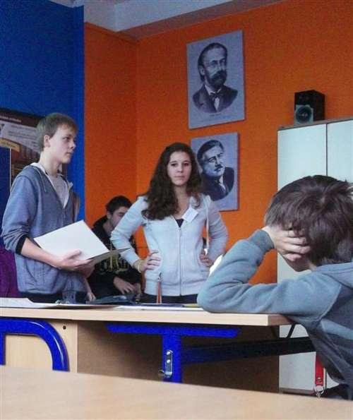 Přírodovědná přednáška – žáci žákům.