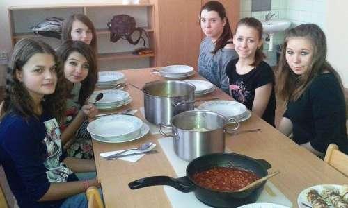 Poslední vaření v 7.A