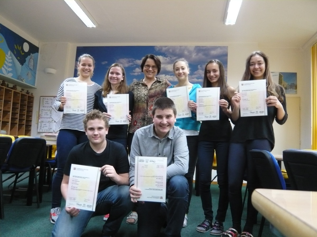 Certifikáty British Council 2014-15