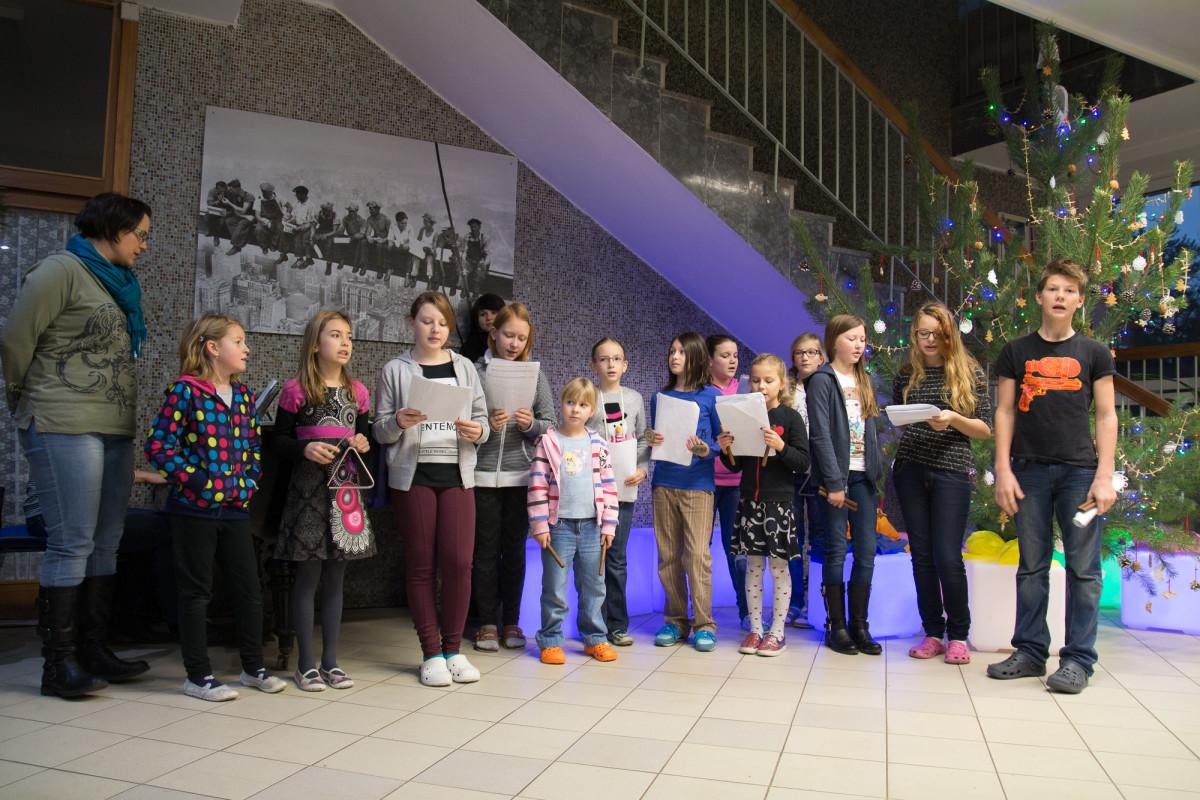 Zpívání pod schody