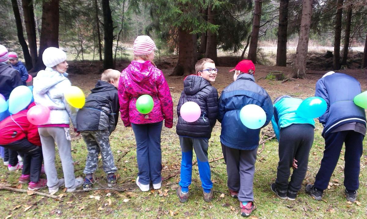 Pobyt v přírodě –  třetí a šesté třídy