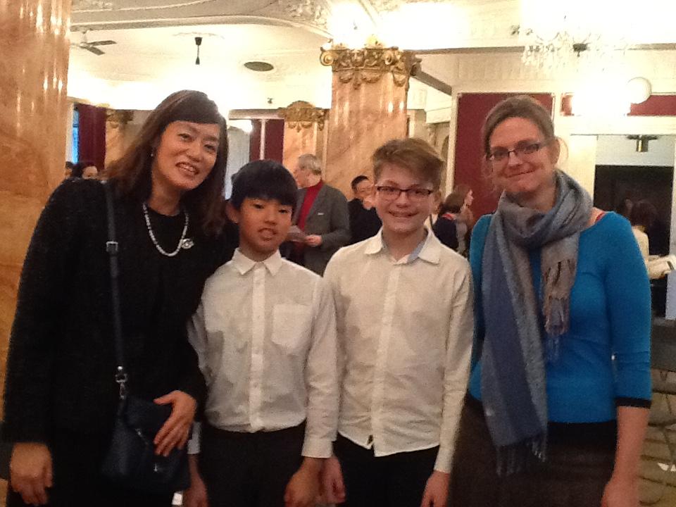 Novoroční koncert česko – japonské společnosti přátel
