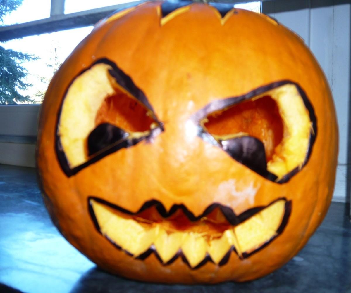 Veselý Halloween u nás