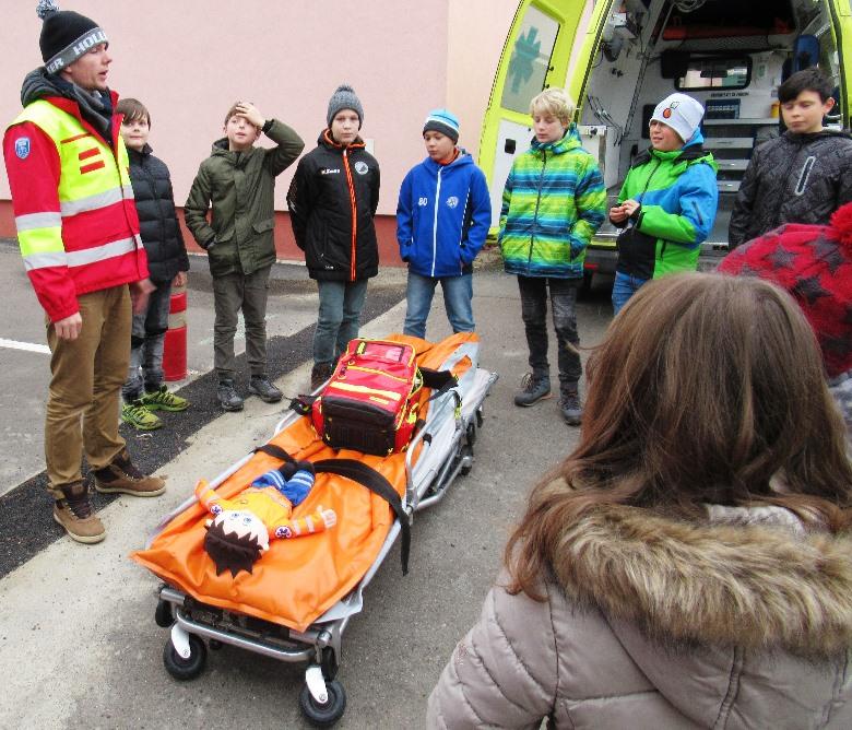Týden ve škole se záchranáři
