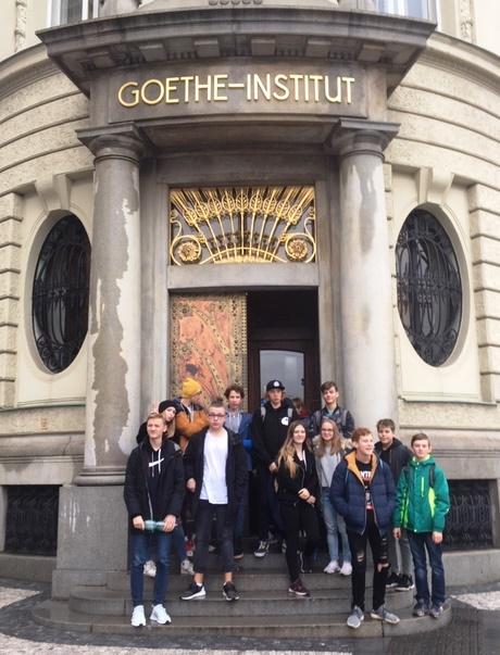 Návštěva Goethe institutu